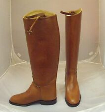 Regent Royale Long Leather Riding Boot Size 4 Standard Leg Standard Calf