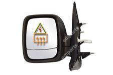Vauxhall Vivaro Door Wing Mirror Electric Heated Left Passenger Side N/S 2014 On