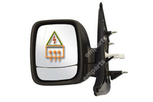 Renault Trafic Door Wing Mirror Electric Heated Left Passenger Side N/S 2014 On