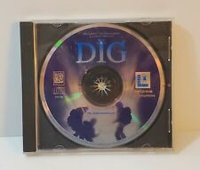 The Dig PC CD-Rom 1995 MS-Dos Lucasarts point and click adventure game
