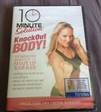 10 Minute Solution Knockout Body Workout Fitness Dvd , New Sealed