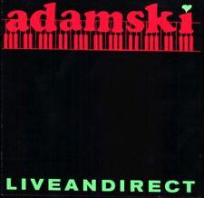 [Music CD] Adamski - Liveandirect