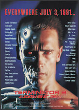 TERMINATOR 2: Judgment Day__Original 1991 Trade AD / licensing promo / poster_T2