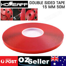 15MM*50M Double Sided Strong Economy Adhesive Super Sticky Clear Tape Multi-role