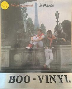 """VINYL 7"""" SINGLE - THE STYLE COUNCIL - a PARIS - TSC3 EX CON"""