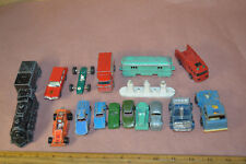 Lot Of 17 Vintage Midge Toys Tootsie Kerner Lesney Corgie Ford B.R.M. Bug #1891