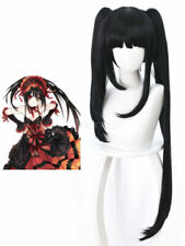 Date A Live Tokisaki Kurumi Twin Tail Halloween Cosplay Wig