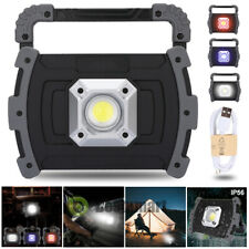90000lm COB LED Work Light Rechargeable Inspection Flashlight Outdoor Lamp Stand