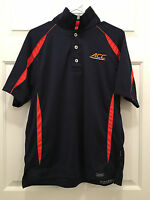 Virginia UVA Cavaliers Basketball Team Issued ACC Appearance Blue Polo Medium