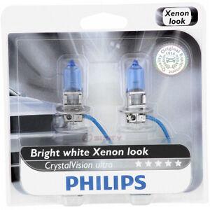Philips H3CVB2 CrystalVision Headlight Bulb for BPH3 Electrical Lighting hf