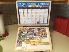 Melissa & Doug My Monthly Magnetic Calendar Child Time Organizer Dry Erase 100+