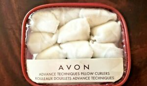 New AVON Advance Techniques PILLOW CURLERS Rollers *SOFT HAIR CURLERS* with Case