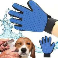 Dog Pet Grooming Glove Silicone Cats Brush Comb Deshedding Hair Gloves