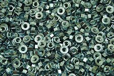 (350) Metric Serrated Flange M8-1.25 Hex Lock Nuts - Zinc Plated