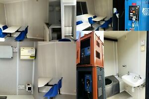 WELFARE UNIT WITH GENERATOR 16ft x 9ft -  Ex Salford - Transport Arranged