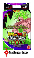 ♦Dragon Ball Super Card Game♦ Deck de Démarrage : Rising Broly - VF/SD08