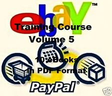 CD - eBay Training Course - Volume 5 - eBooks (Resell Rights)