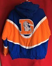 6dea7b5d2 Starter Denver Broncos Puffer Jacket/Jersey Size Large rare old logo