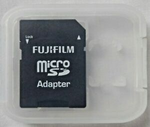 Fujifilm Micro SD Adapter to SD in Plastic Case