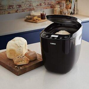 Tower Fast Bake 2lb Digital Bread Maker 12 Settings Gluten Free Crust Control