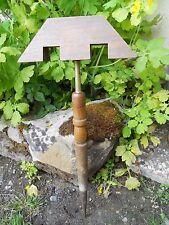 Ancien miroir aux alouettes, chasse , haut en bois