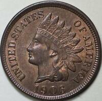 1906  Indian Head Cent - ** CHBU ** - RB