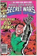 Marvel Super Heroes Secret Wars #12 (1984) - 9.2 NM- *Dr. Doom/Final Issue*