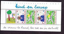 Nederland  plaatfout NVPH Mast  1390 pm2, pm3 en pm4 postfris