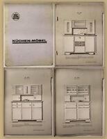 Original Katalog von Fritz Gietzelt Möbelfabrik Küchenmöbel um 1930 Dresden sf