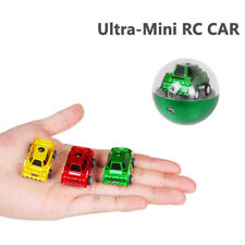 Random Micro Racing Car Mini RC Remote Control Car In Egg Shape Box 1pcs