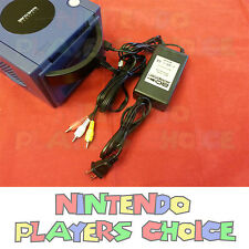 COMBO AC POWER SUPPLY ADAPTER + AV CABLE FOR THE NINTENDO GAMECUBE SYSTEM - NEW