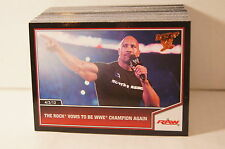 WWE BEST OF 2013 (Topps) BRONZE PARALLEL TRADING CARD SET CM Punk, Rock, AJ Lee