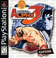 ***STREET FIGHTER ALPHA 3 PS1 PLAYSTATION 1 DISC ONLY~~~