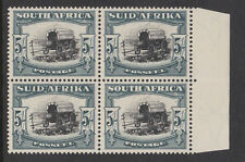 "Sud Africa 1933-54 5 / - con ""BROKEN giogo PIN"" CW 13B luppolo 13c MNH / MINT."