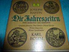 Haydn Seasons Janowitz Schreier Bohm DG 3 LP NM