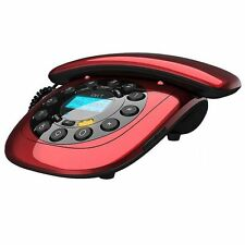 IDECT CARRERA CLASSIC CORDED TELEPHONE - RED
