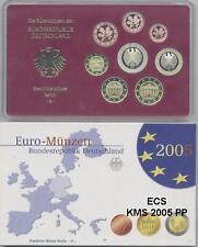 Germania EURO-KMS 2005 speculari PP A-D-F-G - J tutti 5 completa