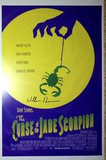 Woody Allen & Wallace Shawn signed Jade Scorpion 11x17 poster - Exact Proof