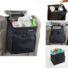 Car Litter Trash Bag Garbage Leakproof Can Auto Bin Holder Rack Tissue Dispenser