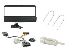 CTKFD26 Ford Mondeo 93-04 Single Din Car Stereo Fitting Kit stalk control BLACK