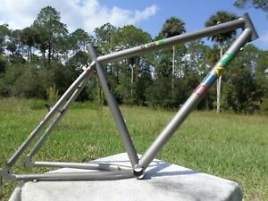 "Vintage Dean Colonel Mountain Bike Frame MTB vrc titanium 19"""