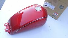 NEW 1997 SUZUKI GN125E TANK ASSEMBLY FUEL RED 44100-38390-Y0R