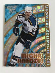 NHL Card,Michal Handzus,Pacific Recolution 2001