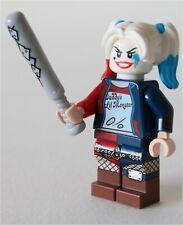 RARE LEGO APOCALYPSEBURG HARLEY QUINN MINIFIGURE 70840 DC BATMAN - GENUINE