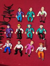 11 Dick Tracy Movie Playmates 1990's Loose Action Figure Lot & Accessories