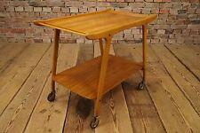 60er SERVIERWAGEN TEEWAGEN TABLE TISCH BEISTELLTISCH 60s Mid Century Design