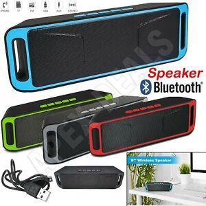 Wireless Bluetooth Speaker Hands-Free Car Kit Speaker Mobile Computer PC USB/FM