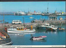 Cornwall Postcard - Harbour and Docks, Falmouth   F302