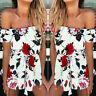 UK Womens Holiday Mini Playsuit Floral Jumpsuit Romper Summer Beach Romper Dress