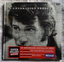 ♫ - JOHNNY HALLYDAY - LA GÉNÉRATION PERDUE - 2 CD + 1 DVD - NEUF NEW NEU - ♫